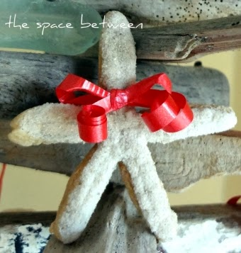 starfish salt dough ornament