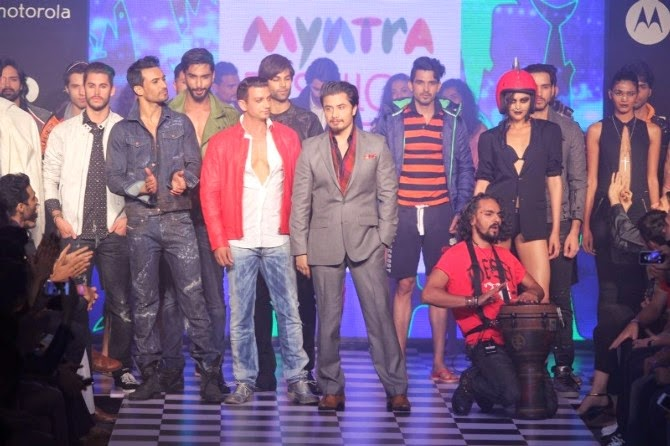 Bollywood newest actor Ali Zafar walks for Men's Health at Myntra Fashion Weekend 2014