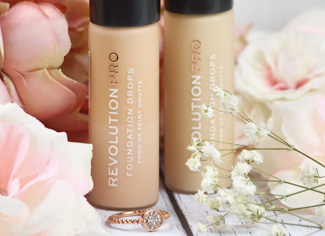 Revolution Pro Foundation Drops Review, Lovelaughslipstick Blog