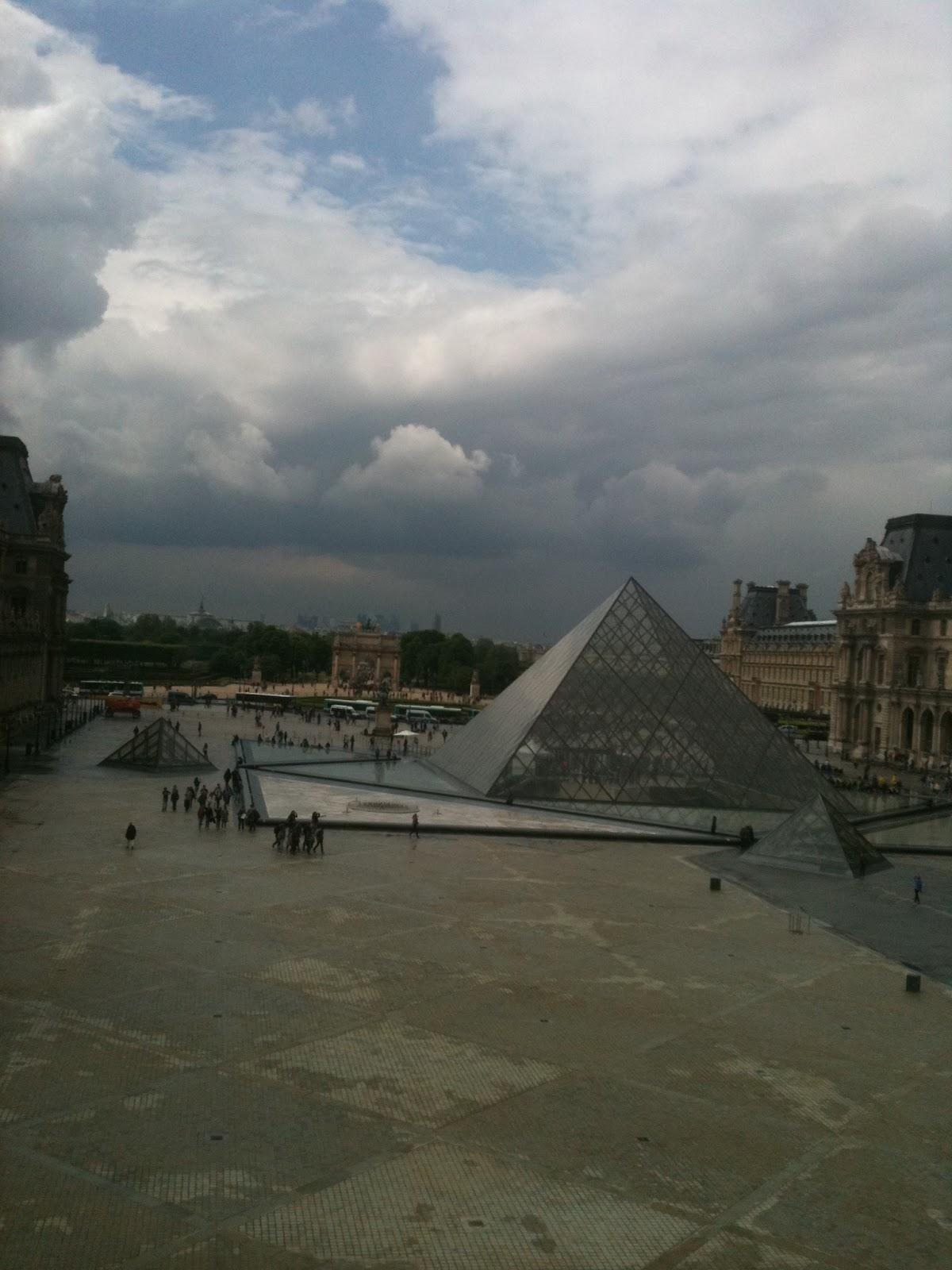 Essay louvre pyramid