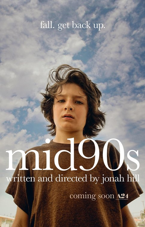 Mid90s movie poster