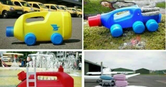Ide Kreatif Mobil Mainan Anak Dari Botol Bekas Pemula
