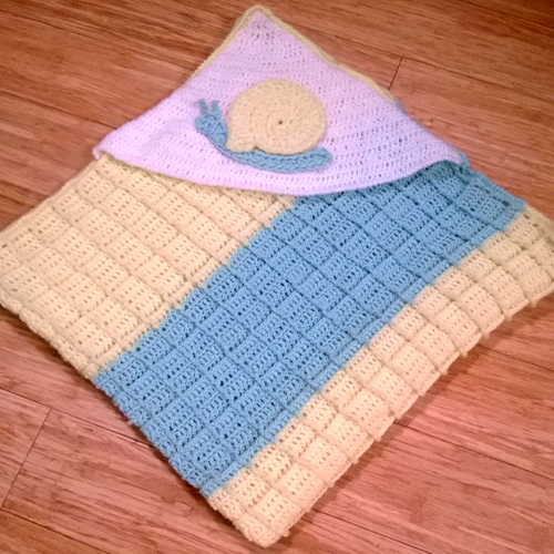Snail Blanket - Free Pattern