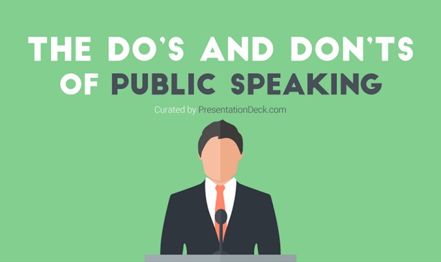 The do's and don'ts of public speaking