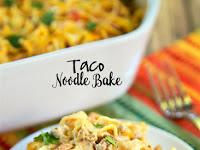 Taco Noodle Bake Recipe