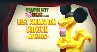 Premiação dos Dragões dos Filmes - Melhores Animações!