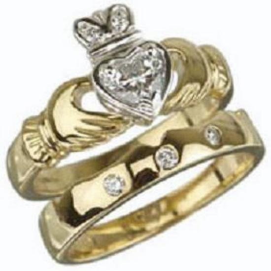 Engagement Rings Galway: OK Wedding Gallery: Claddagh Engagement Rings