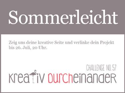 kreativ durcheinander challenge - sommerleicht