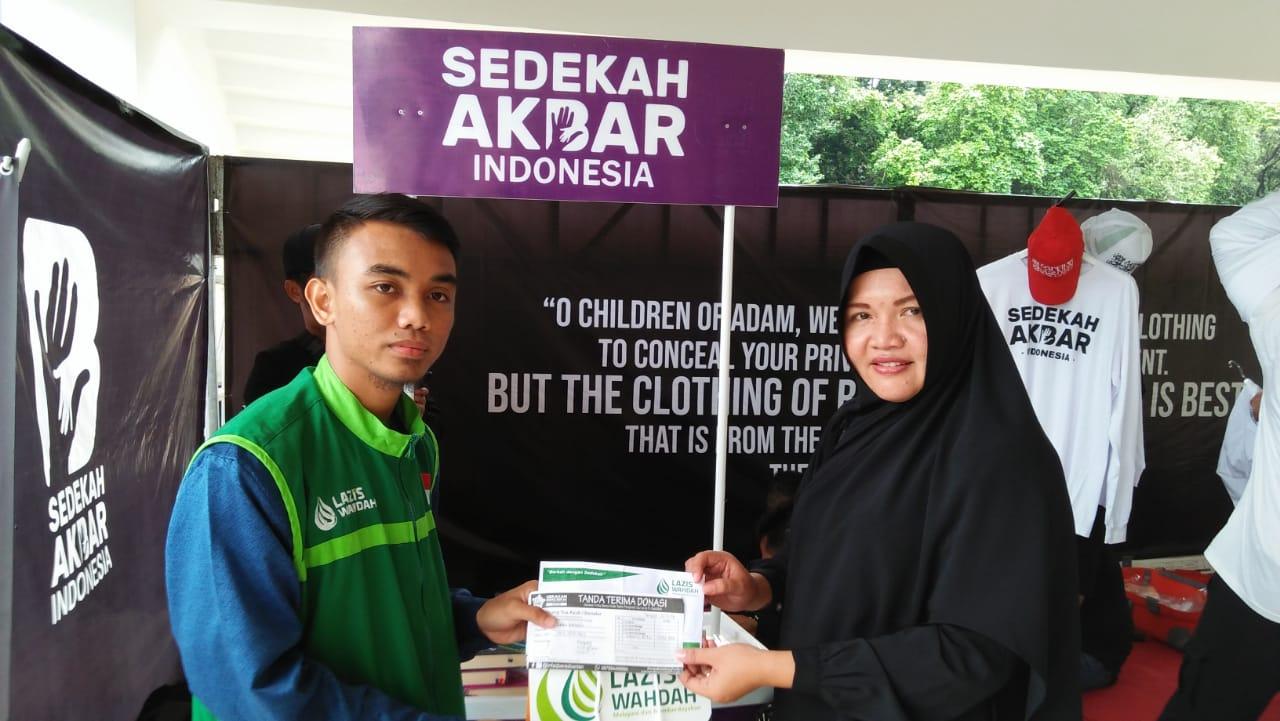 LAZIS Wahdah-Sedekah Akbar Indonesia Peduli Yatim Penghafal Qur'an