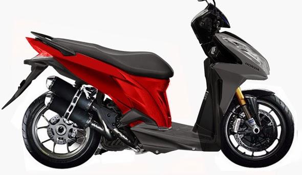 Spesifikasi Dan Harga Honda Vario 110 Fi Injeksi 2014