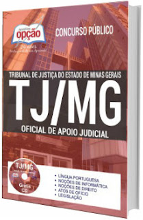 Apostila Concurso TJ-MG 2017 Oficia de Apoio Judicial