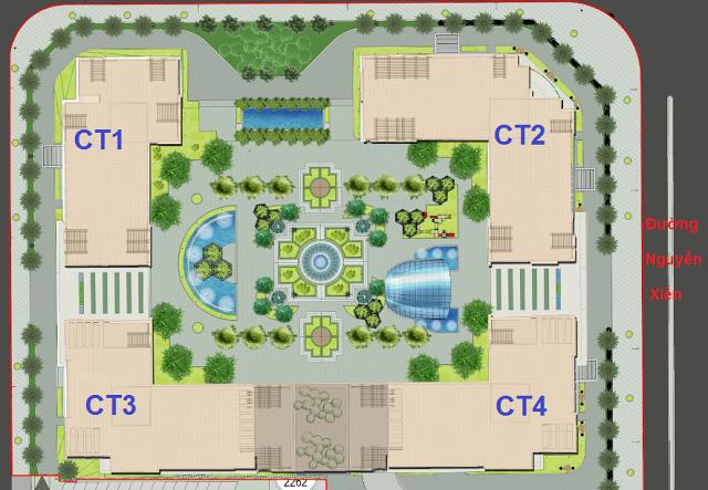 Phối cảnh Eco Green City