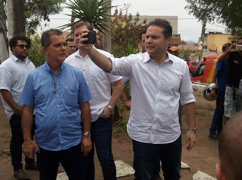 Pela sexta vez, governador Renan Filho visita Delmiro Gouveia para realização de inaugurações e lançamento das obras do Hospital Regional do Sertão
