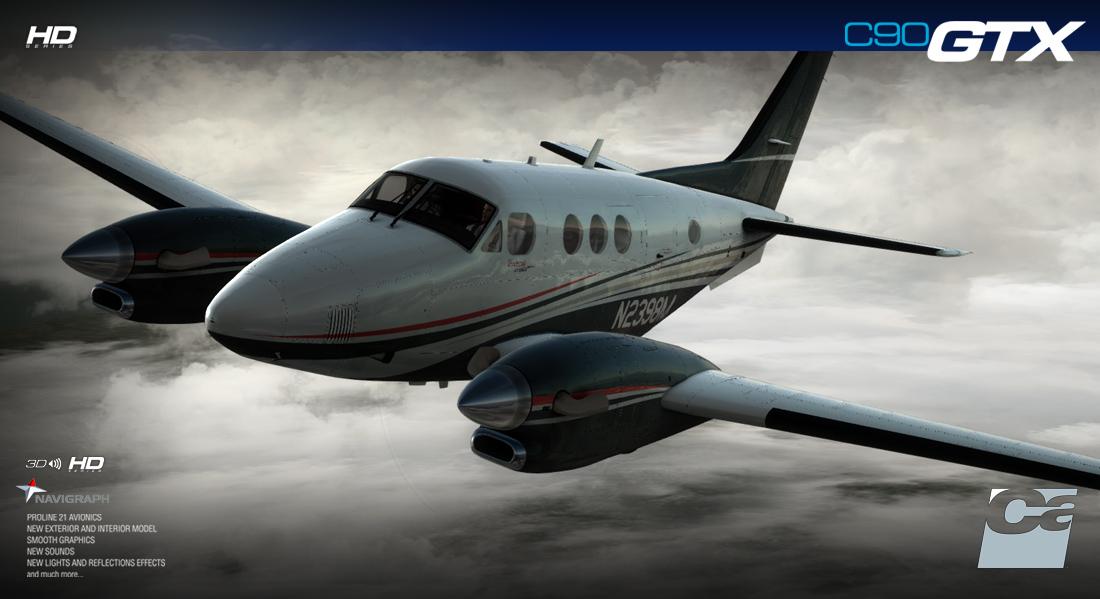 FSX/P3D] Carenado: C90 GTX King Air HD - FLIGHT  XTREME  AVIATION