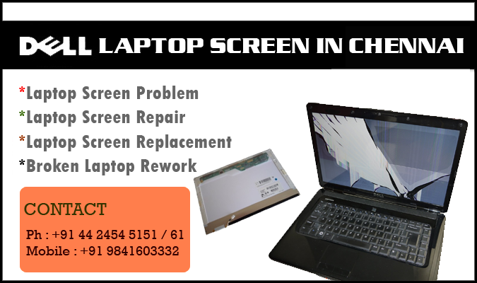 Dell Laptop Screen in Chennai