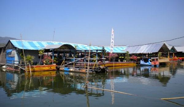 warung apung rowo jombor / jimbung wisata klaten wedi alamat peta di barokah ilham lagu