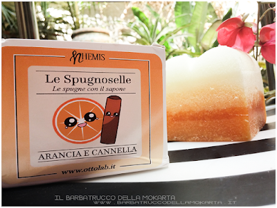 pareri Nhemis Cosmetics - spugnoselle - arancia cannella