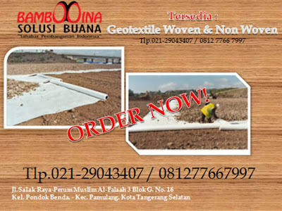 Supplier Geotextile di Kalimantan Barat