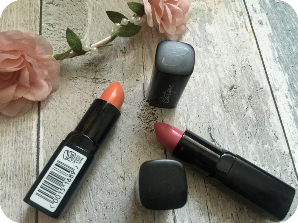 sainsbury's boutique lipstick range