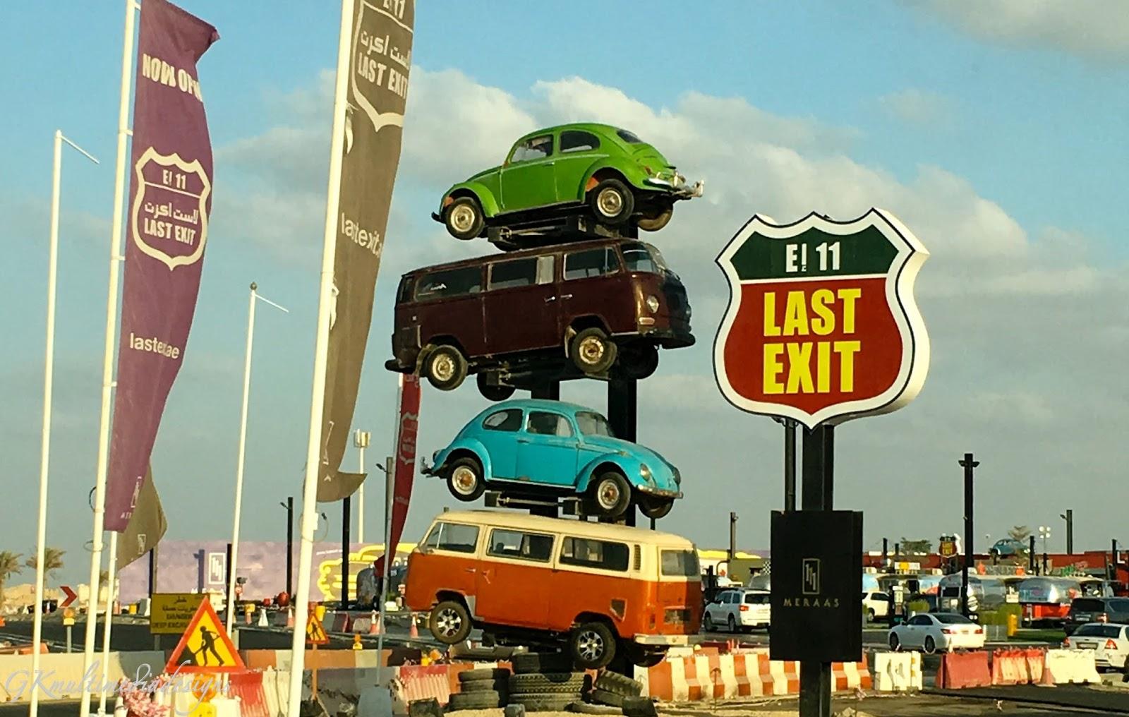 Dubai The Last Exit Food Truck List