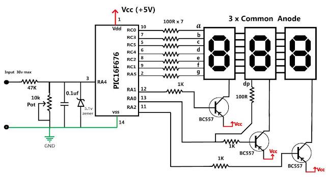 12 volt gauge wiring diagram on digital panel meter wiring diagram