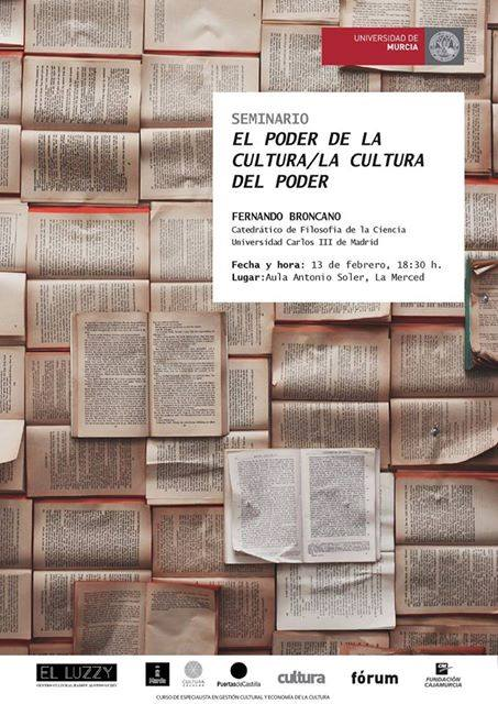 """Seminario: """"El poder de la cultura/ La cultura del poder"""""""