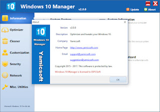 Windows 10 Manager 2.0.5