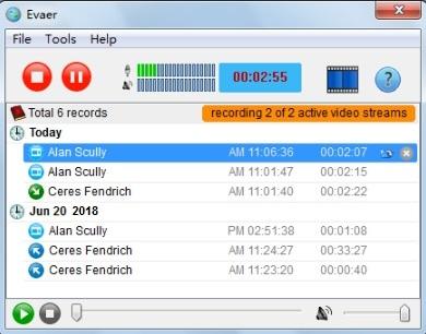 Evaer Video Recorder Skype