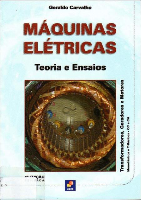 Eletrotécnica Total: Livro Máquinas Elétricas e