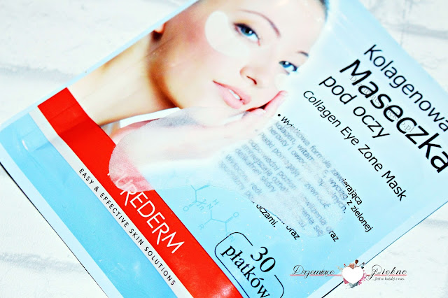 Purederm, Collagen Eye Zone Mask Kolagenowa maseczka pod oczy