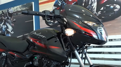 New 2017 Bajaj Pulsar 150 Close up shot