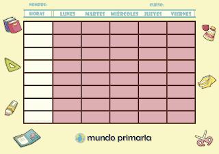 horario escolar de calidad de colegio