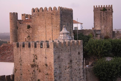 City walls of Obidos