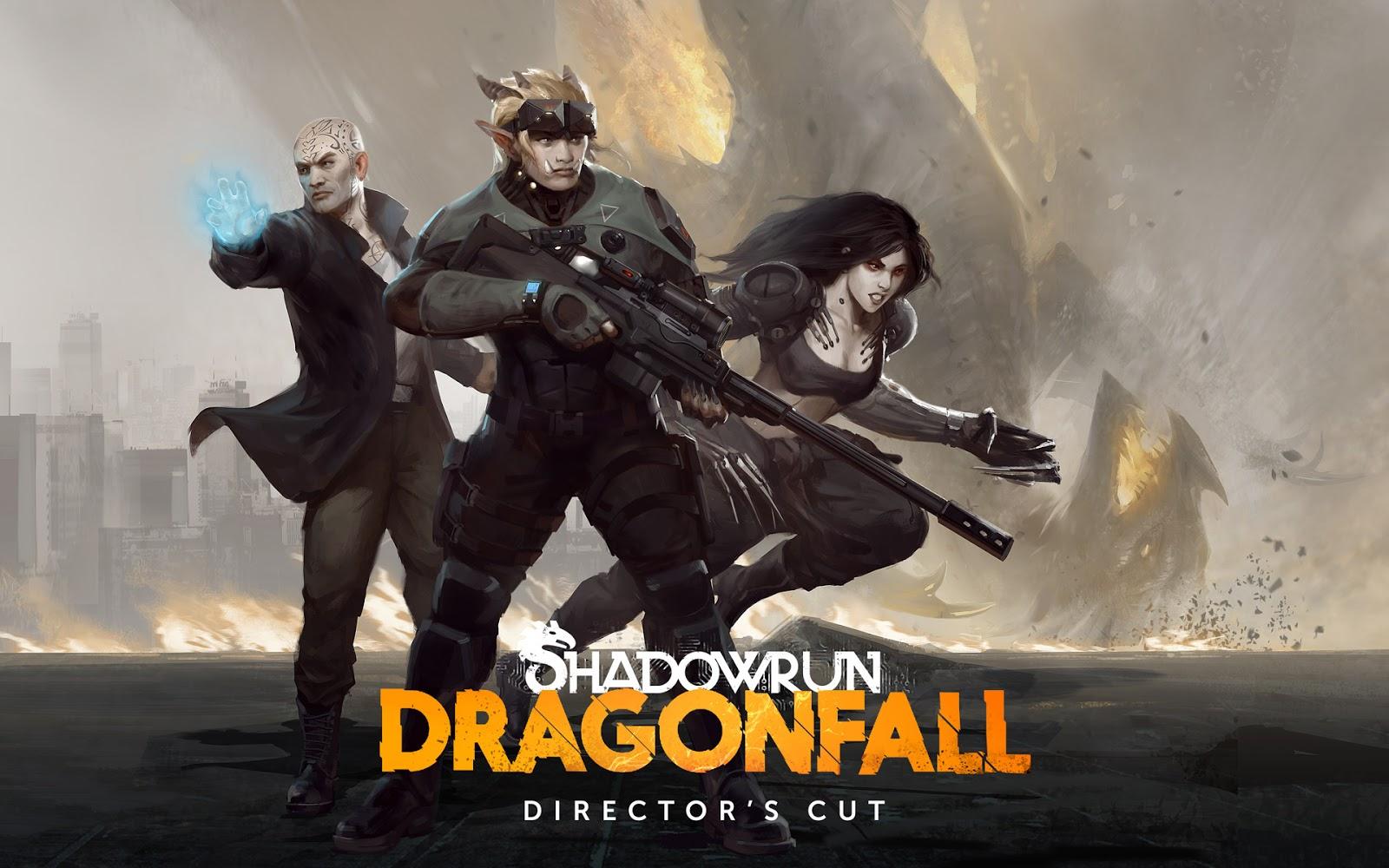 Game RPG Offline Shadowrun: Dragonfall