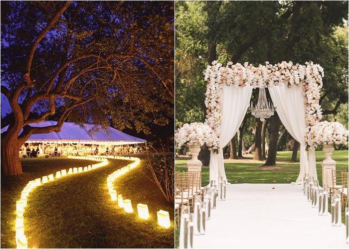 Decorao Para Casamento Luzes Dossel Painel Para Fotos.