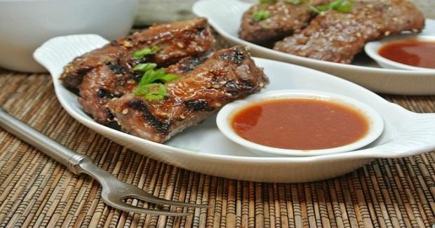 Asian Grilled Boneless Short Ribs Recipe