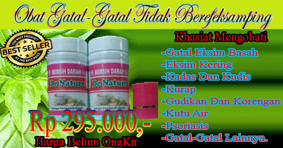 Obat Gatal Bernanah Herbal