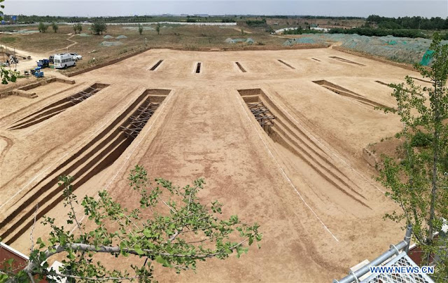 Ancient tomb group unearthed in Shaanxi