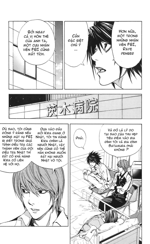 Death Note chapter 022 trang 10