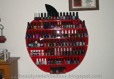 Beautyredefined By Pang My New Nail Polish Rack