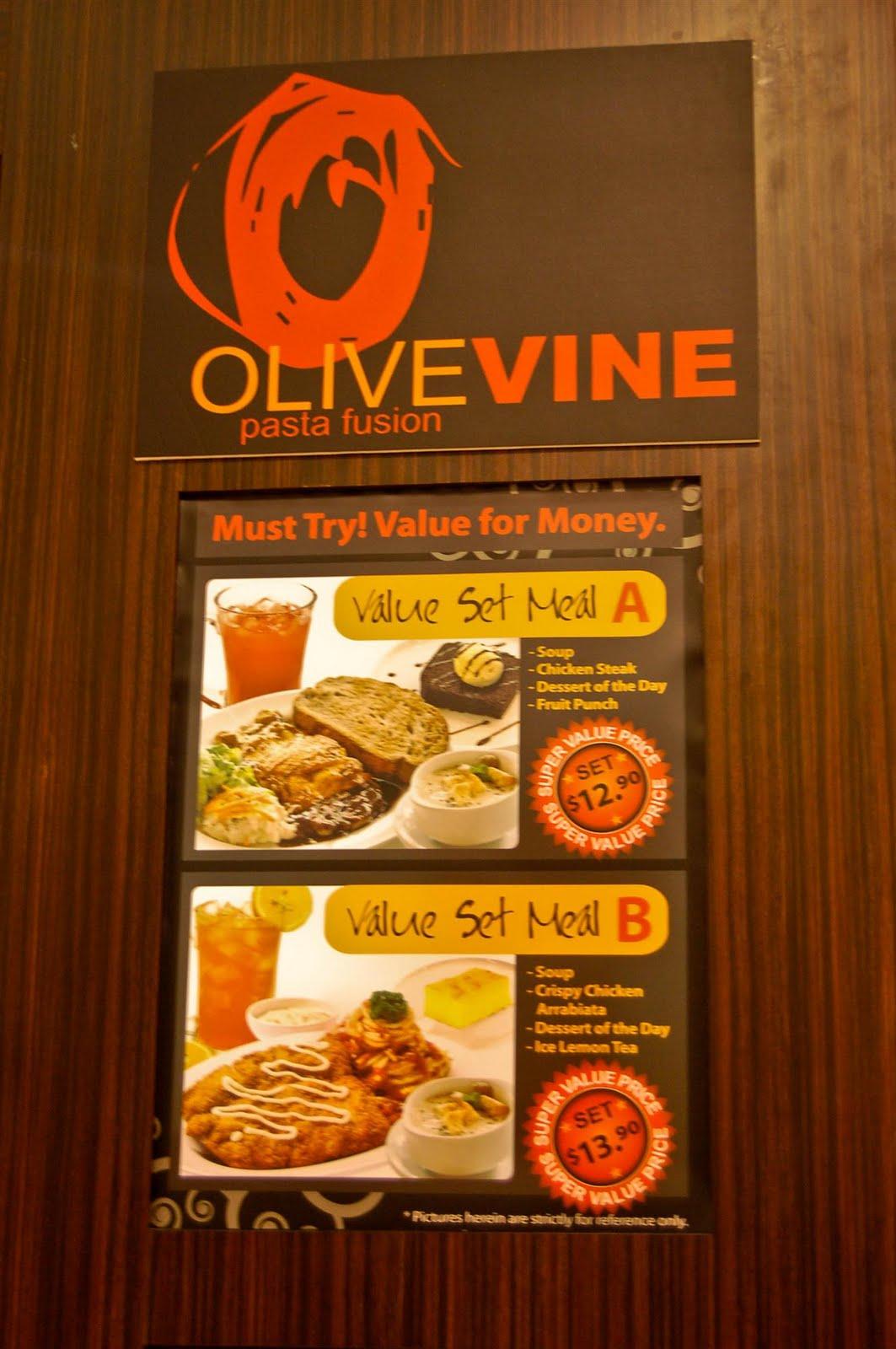 Olive Vine @ Marina Square - Javin Tham