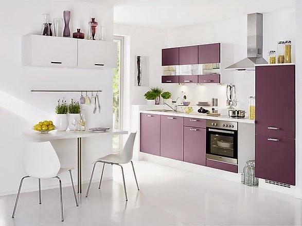 Fotos de cocinas lineales modernas colores en casa for Proyecto cocina pequena