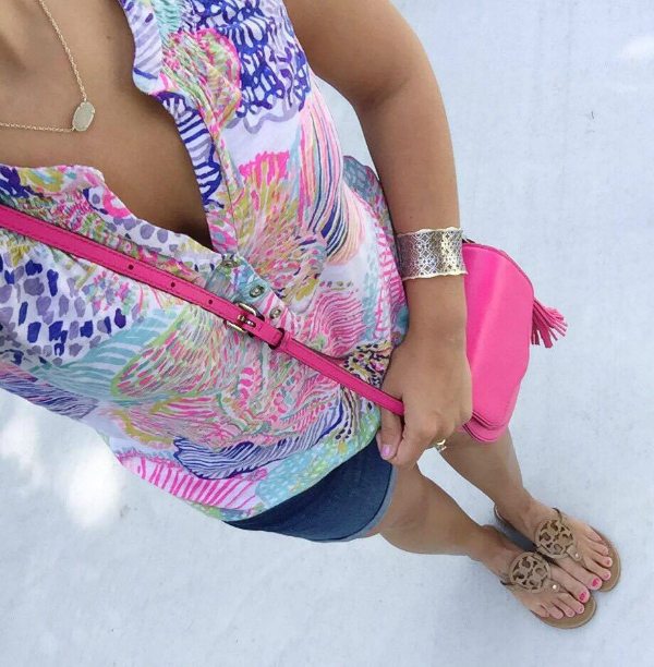 lilly pulitzer, essie top