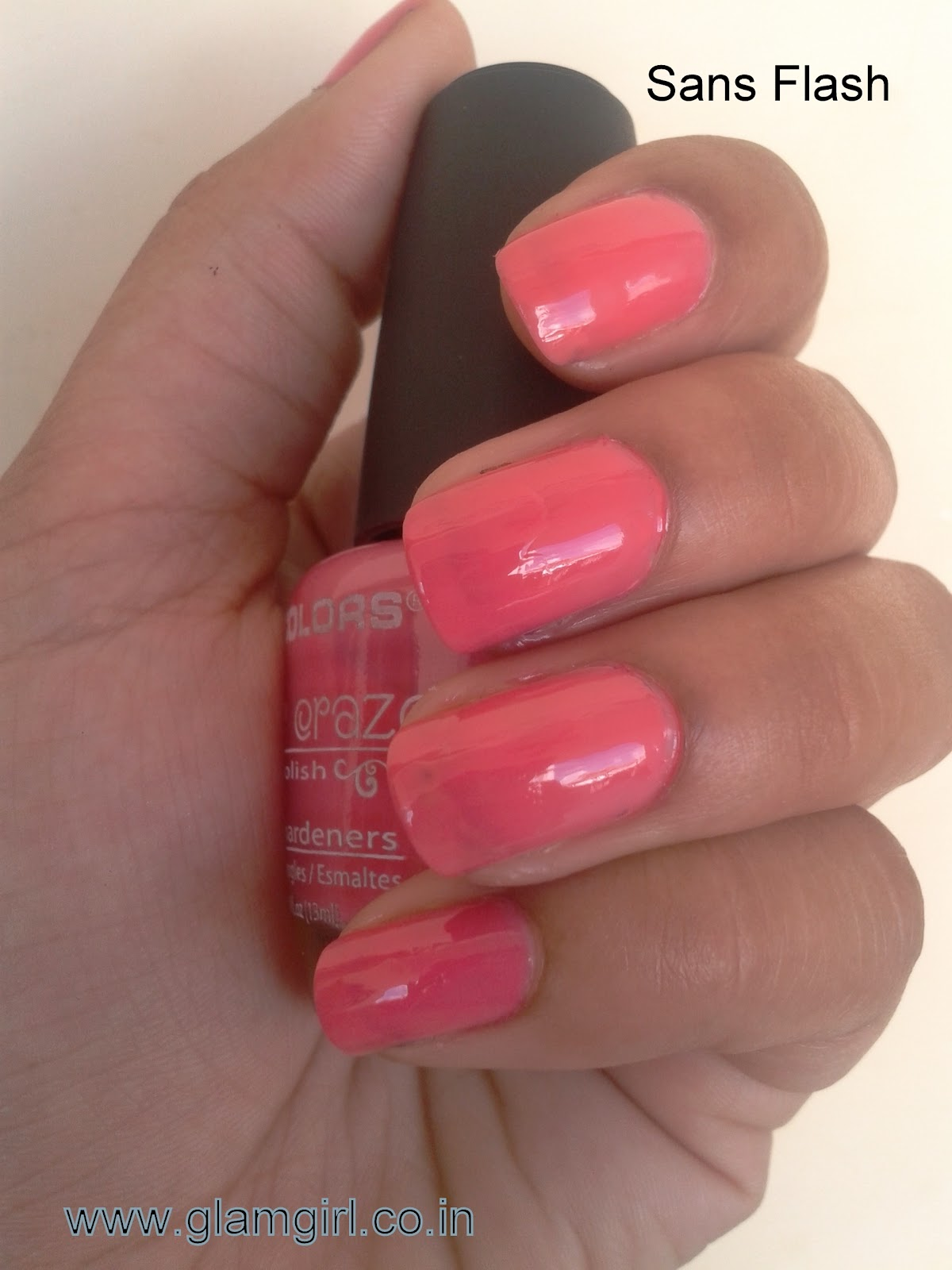 GlamGirl: L.A COLORS - COLORS CRAZE NAIL POLISH IN ELECTRIC CHARGE ...