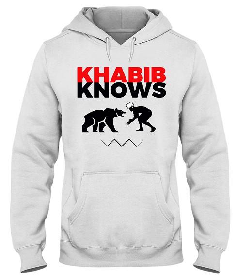 Khabib Knows T Shirt, Khabib Knows Hoodie, Khabib Knows Shirts