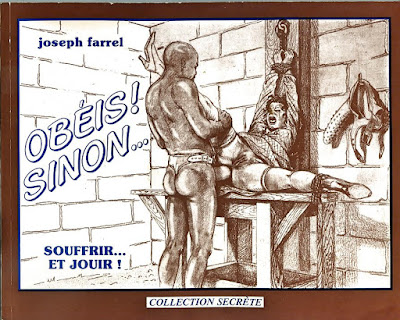 comic bdsm sadomasoquismo joseph farrel obedece