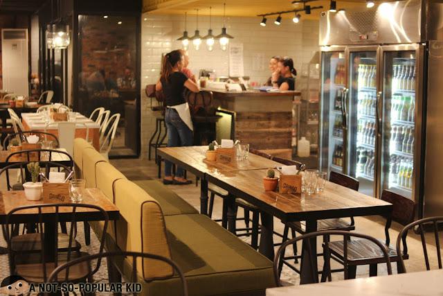 Gringo Restaurant Interior in Makati Ciity