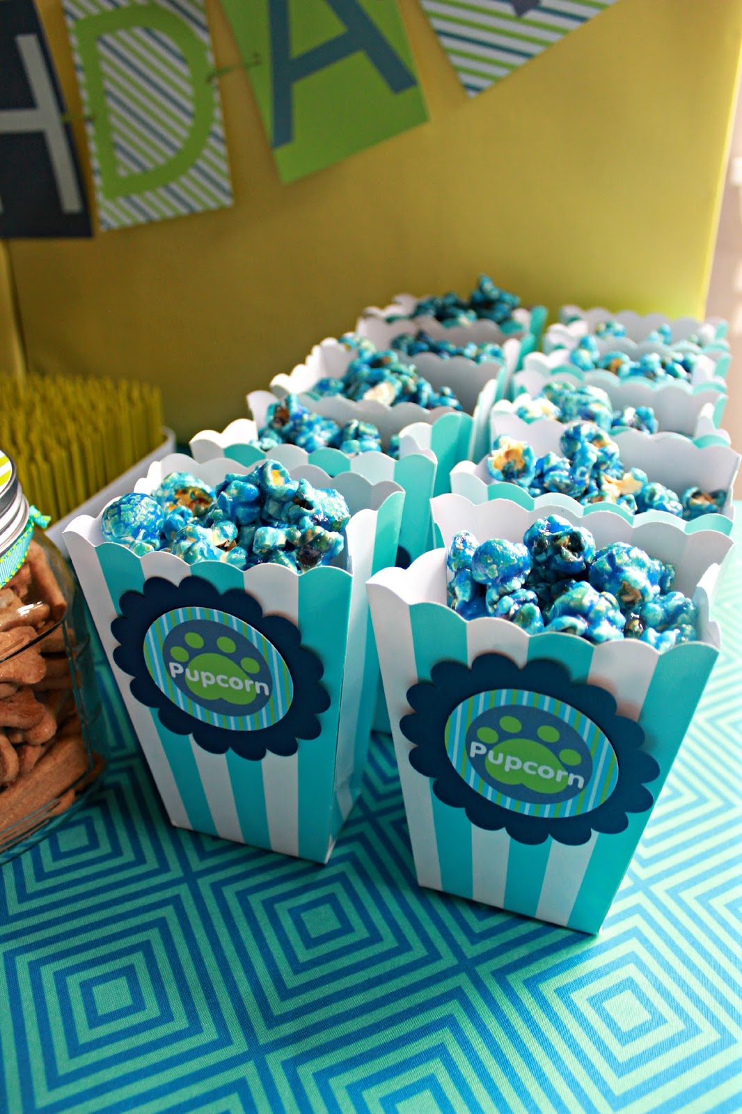 Birthday Party popcorn ideas
