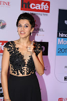 Red Carpet of Most Stylish Awards 2017 ~ Taapsee Pannu in Black Gown (1).JPG