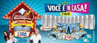 Promoção Ponto Novo Supermercados 2019 Você é de Casa Segunda Edição - Casa, Prêmios